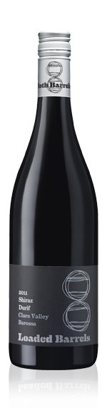 Loaded Barrels Shiraz Durif 2011 Shiraz