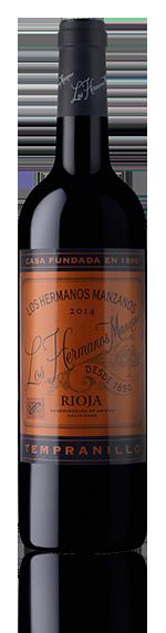Los Hermanos Manzanos O/A Rioja 2014 Tempranillo