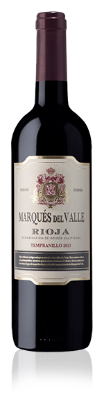 Marques Del Valle Rioja Tempranillo 2013 Tempranillo
