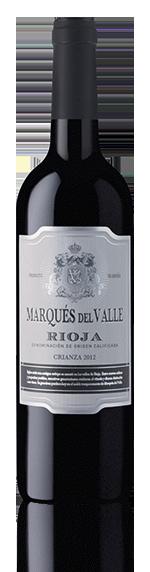 Marques Del Valle Rioja Crianza 2012 Garnacha