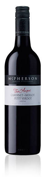 Mcpherson 'The Angus' Cab Merlot Pv 2014 Red Blend
