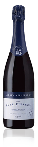 Mcpherson Full Fifteen Sparkling Red Nv Red Blend