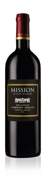 Mission Estate The Avenue Cabernet Sauvignon Merlot 2010 Cabernet Sauvignon