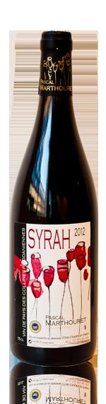 Pascal Marthouret Syrah 2012 Syrah