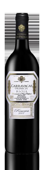 Primicia Carravacas Rioja Reserva 2007 Tempranillo