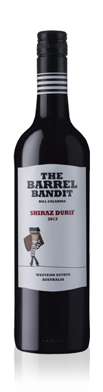 The Barrel Bandit Shiraz Durif 2013 Blend