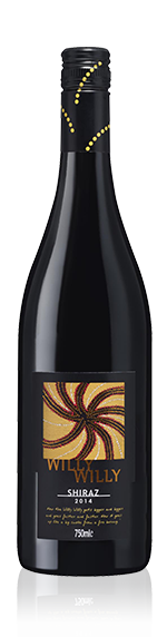 Willy Willy Shiraz 2014 Shiraz
