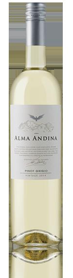 Alma Andina Pinot Grigio 2014 Pinot Grigio