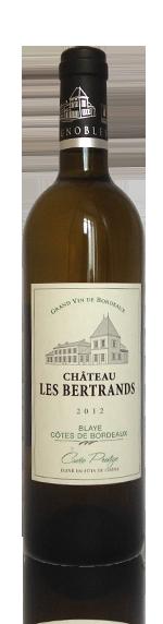 Château les Bertrands Prestige Blaye Blanc 2012 Sauvignon Blanc