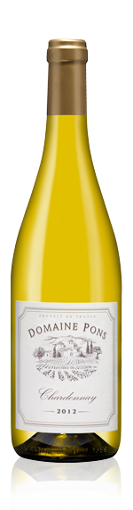 Domaine Pons Chardonnay 2012 Chardonnay