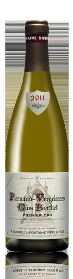 Dom Fontaine Clos Berthet 1Er Cru 2011 Chardonnay