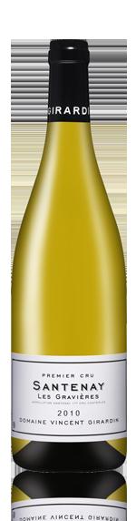 Domaine Vincent Girardin Santenay Premier Cru Gravières 2010 Chardonnay