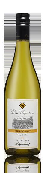 Don Cayetano Chardonnay 2012 Chardonnay