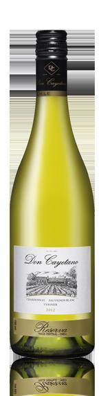 Don Cayetano Chardonnay Sauvignon Viognier Reserva 2012 Blend