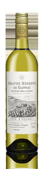Grande Réserve De Gassac Blanc 2012 Chardonnay