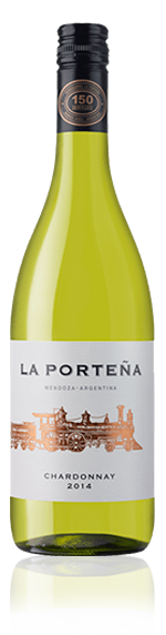 La Portena Chardonnay 2014 Chardonnay