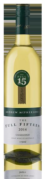 Mcpherson Full Fifteen Chard 2014 Chardonnay