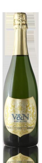 vin V&N Barcelona Cava Brut Parellada 42% Parellada, 27% Macabeo, 24% Xarel-Lo, 7% Chardonnay Katalonien