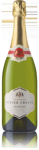 vin Didier Chopin Brut Millésime 2008 Chardonnay