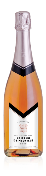 vin Brun De Neuville Tendre Rosé Brut Nv Chardonnay