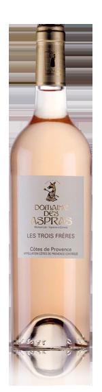 Domaine Des Aspras Les Trois Rosé 2015