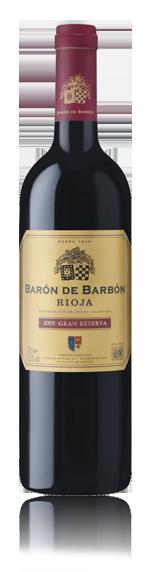 vin Baron De Barbon Gran Reserva Rioja 2005 Tempranillo