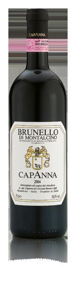 Capanna Brunello di Montalcino 2010 Sangiovese
