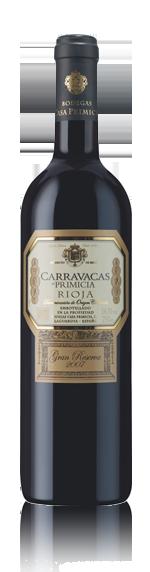 vin Carravacas De Primicia Gran Reserva 2007 Tempranillo