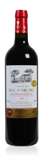 Château Roc St Michel Saint-Emilion Grand Cru 2013