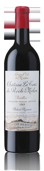 vin Château La Tour Du Roch-Milon Pauillac 1969 Cabernet Sauvignon