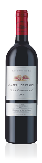 """Château De Francs """"Les Cerisiers"""" 2014 Merlot"""