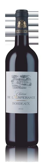 vin Château De L'Esperance 2010 Merlot