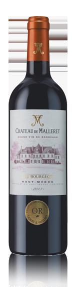 vin Château De Malleret Haut-Medoc Cb 2013 Merlot