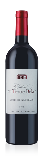 vin Chateau Du Tertre Belair Cast 2015 Merlot