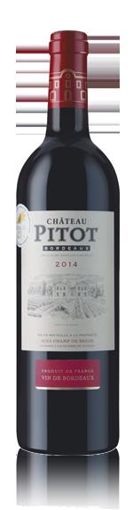 vin Château Pitot Bordeaux Aoc 2014 Merlot