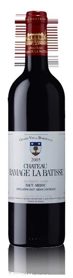Château Ramage La Batisse Haut-Medoc 2005 Merlot