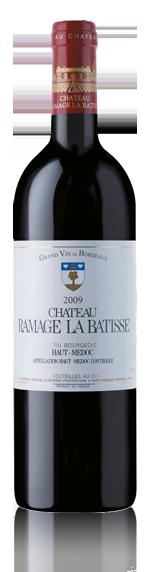 Château Ramage La Batisse Haut-Medoc 2009 Merlot