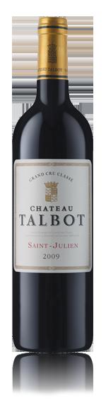 Chateau Talbot St Julien 4Eme Cru Classe 2009 Blend