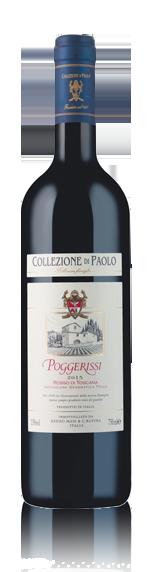 vin Collezione Di Paolo Poggerissi Igt 2015 Sangiovese