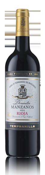 vin Dinastia Manzanos Oak Aged Rioja 2015 Tempranillo