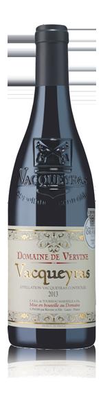 vin Domaine De Vervine Vacqueyras 2013 Grenache