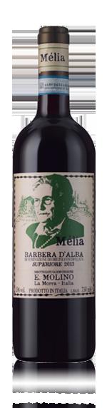 E.Molino Barbera D'alba Superiore 2013 (6 Flaskor I Trälåda)