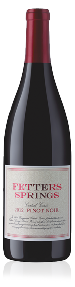 Fetters Springs Pinot Noir 2012 Pinot Noir