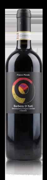 vin Franco Mondo Barbera d'Asti 2017 Barbera