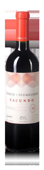 vin Garcia + Schwaderer Facundo Red Blend 2012 Carignan