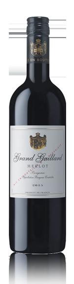 Grand Gaillard Merlot Bergerac Aoc 2015 Merlot