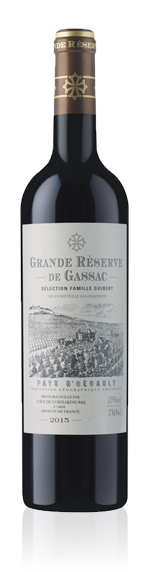 Grande Reserve De Gassac Rouge Igp 2015 Cabernet Sauvignon