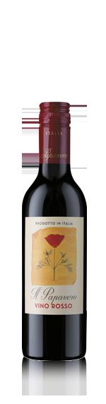 vin Il Papavero Vdt (15) (Halvflaska) Red Blend