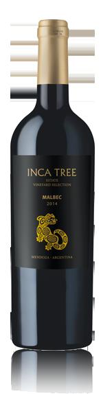 Inca Tree Estate Vineyard Sel Malbec 2014 Malbec