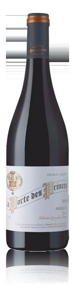vin La Porte Des Princes Merlot 2015 Merlot